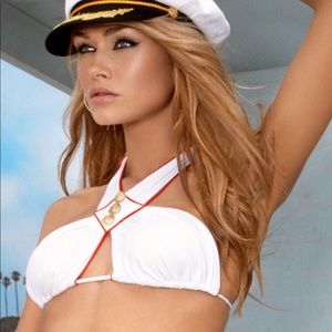 Beach Bunny Sailor Bikini top